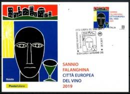 ITALIA / ITALY 2019 - Sannio Falanghina, Citta' Europea Del Vino - Maximum Card - Vini E Alcolici