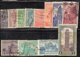 Y1022 - INDIA 1949 , Alcuni Valori Usati   (2380A). - Usati