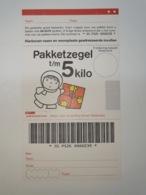 Netherlands Pakketzegel NVPH Nr 5 Up To 5 Kg, 1995 Unused  Geuzendam 1a Christmas Period General Picture - Ganzsachen