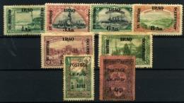 Irak Nº 27, 31, 33/5, 37, 40/41. Año 1918/19 - Irak