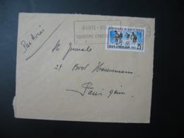 Lettre Thème Sportif  Course De Vélo Cyclisme Côte D'Ivoire     Pour La Sté Générale En France   Bd Haussmann   Paris - Ivory Coast (1960-...)