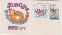 Spain 1973 FDC Europa CEPT  (G104-16) - 1973