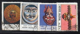 CI2202 - INDIA 1974 , Yvert Serie N. 388/391 Usata   (2380A). - Usati