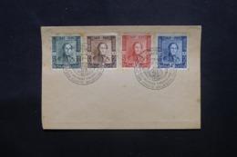 BELGIQUE - Oblitération FDC En 1949 Pour Le Centenaire Du Timbre Poste Belge Sur Enveloppe - L 43855 - ....-1951