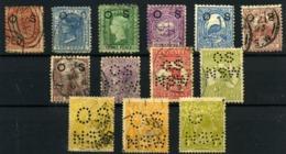Nueva Gales Del Sur (Servicio) Nº 1/3, 21, 22, 23, 26, 46, 78, 81, 103, 105. Año 1879/927 - Australia