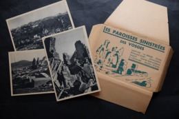 CARNET 12 CPA 88 VOSGES SAINT DIE LA BRESSE ETIVAL ST LEONARD SAULCY RAON L'ETAPE  ETUI SERIE N°3 CHATEL REHAINCOURT JEA - France