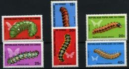 Congo Francés Nº 297/302. Año 1971 - Unused Stamps