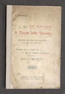 Brigantaggio - F. Gasparolo - La Banda Di Mayno Della Spinetta - 1905 Ca. - RARO - Libros, Revistas, Cómics