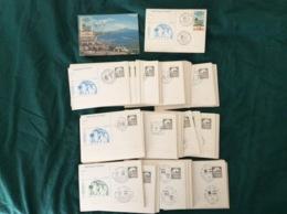 Cartoline Postali Con Annulli Partite Camp. Calcio Serie A 1986/87 - Soccer