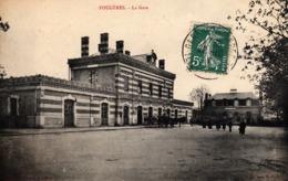 Thematiques 35 Ille Et Vilaine Fougeres La Gare Timbré Cachet - Fougeres