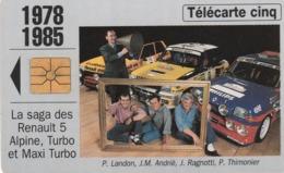 FRANCIA. Renault 5. 1978-1985, 5U. Tirage 25.000, 10/94. Gn121. (229) - Autos