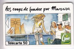 TELECARTE 50 UNITES  EN 974  GINI MANARA SEXY   LUXE - 50 Einheiten