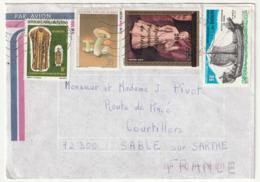 LETTRE Du BENIN - 29/08/1987 - Benin – Dahomey (1960-...)