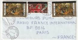LETTRE Du BENIN - 24/01/1989 - Benin – Dahomey (1960-...)
