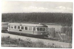 Inlandsbanan Jokkmokk Railway Train Tram Tramway Eisenbahn Poolcirkel Polar Circle Cercle Polair 60's - Svezia