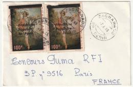 LETTRE Du BENIN - Zagnanado Le 07/06/1988 - Benin – Dahomey (1960-...)