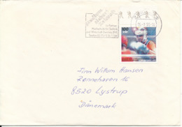 Germany Cover Sent To Denmark 15-7-1995 Single Franked BOXING - [7] Federal Republic