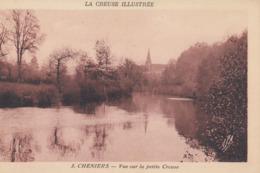 CHENIERS: Vue Sur La Petite Creuse - France