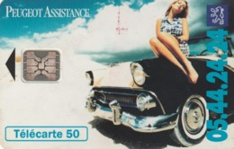 FRANCIA. Peugeot Assistance 3. 50U. 07/94. 0489. (227) - Autos