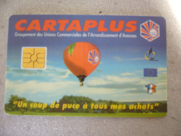 TELECARTE / CARTE A PUCE / CARTE DE STATIONNEMENT.. CARTAPLUS  FOURMIES 59 - Frankrijk