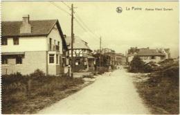 La Panne.  Avenue Albert Dumont. - De Panne