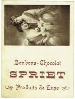 Petit Calendrier Publicité. Bonbons - Chocolat. SPRIET. 1924. - Calendriers