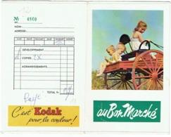 Foto/Photo. Pochette Kodak. Au Bon Marché. Enfants. - Supplies And Equipment
