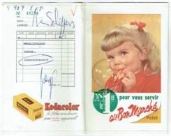 Foto/Photo. Pochette Kodak. Au Bon Marché.  Fillette Et Bulle De Savon. - Supplies And Equipment