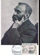 48003 Switzerland, Maximum 1997 Alfred Nobel, Decouvrit La Dynamite En 1866,discoverer Of Dynamite, - Nobel Prize Laureates