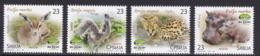 SERBIA - 2017 - ANIMALS - WILDLIFE - 4  V -. MNH - - Stamps