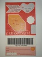 Netherlands Pakketzegel NVPH Nr 16 Up To 5 Kg, 1997 Unused Geuzendam 16 General Picture Valentine With Text - Ganzsachen