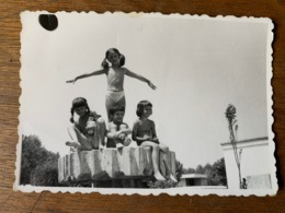 Romania - Nude Young Boy And Girls Photo 1938 - 60/90 Mm - Beauté Féminine (1921-1940)