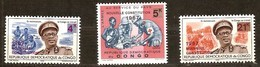 Congo Democratique 1967 Yvertn° 652-654*** MNH Cote 2,10 Euro - Democratic Republic Of Congo (1964-71)