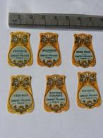 Lot De 6 étiquettes Parfum - Lorenzy Palanca  - - Labels
