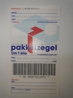 Netherlands Pakketzegel NVPH Nr 20 Up To1 Kg, 2000 Unused Geuzendam 20a General Picture - Interi Postali