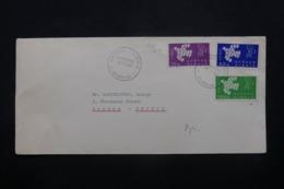 CHYPRE - Oblitération 1er Jour Europa Sur Enveloppe Pour Athènes En 1962 - L 43874 - Cartas