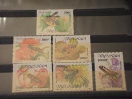 VIETNAM - 1993 LIBELLULE 6 VALORI - NUOVI(++) - Vietnam
