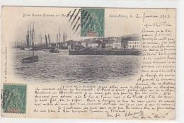Saint-Pierre & Miquelon - Le Quai De La Roncière - 1903           (191009) - Saint-Pierre-et-Miquelon