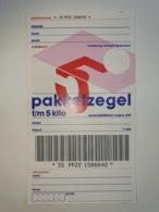 Netherlands Pakketzegel NVPH Nr 21 Up To5 Kg, 2000 Unused Geuzendam 21a - Interi Postali