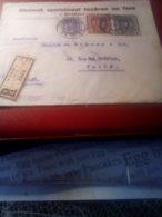 LR  WIEN Pour Paris 1924 Belle étiquette - 1918-1945 1. Republik