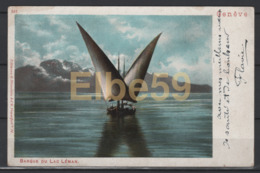 Genève (GE) Barque Du Lac Léman, écrite - GE Ginevra