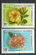 """Nle-Caledonie YT 436 & 437 """" Flore """" 1980 Neuf** - New Caledonia"""