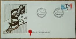 FDC 1989 - YT N°2611 - MARECHAL DE LATTRE DE TASSIGNY - MOUILLERON EN PAREDS - FDC