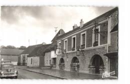 78 St Saint Leger En Yvelines Eglise Et Auberge Des Breviaires Vieille Voiture Auto Automobile CPSM PF - St. Leger En Yvelines