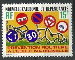 """Nle-Caledonie YT 439 """" Prévention Routière """" 1980 Neuf** - Ungebraucht"""