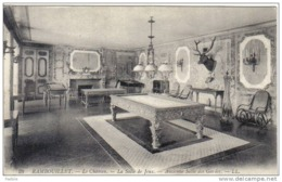 Carte Postale 78.  Rambouillet  La Salle De Billard Trés Beau Plan - Rambouillet (Château)