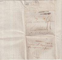 "ALLEMAGNE : HAMBOURG . MARQUE POSTALE . POUR "" SAINTES "" . TAXEE . 1801 . - Hamburg"