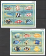 A877 MALDIVES FISH & MARINE LIFE THE GREAT UNDERWATER 2KB MNH - Meereswelt