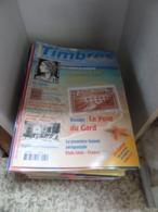37 Timbres Magazine, L'officiel De La Philatélie N°131 à 134 Et 137 à 169  (2012 - 2015) - Riviste: Abbonamenti