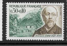 Yvert 1475 Maury 1475 - 30 C + 10 C Taine -  ** - Unused Stamps